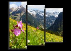 """Модульная картина """"Austrian Alps"""""""