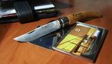 Нож складной филейный Opinel №10 VRI Folding Slim Beechwood
