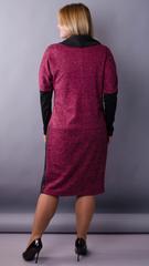 Таша. Стильна сукня на кожен день. Бордо.