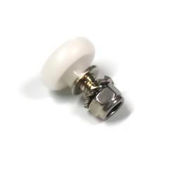 Монтаж ролика В – 16 осуществляется непосредственно в алюминиевый профиль двери душевой кабины или гидробокса.