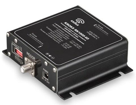 Репитер GSM сигнала 1800 МГц, усилением 60 дБ KROKS RK1800-60