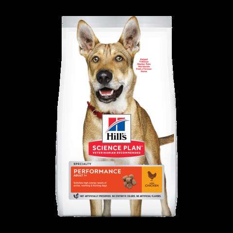 Hill's Science Plan Performance Special Care Сухой корм для взрослых собак для поддержания жизненной энергии и иммунитета с курицей