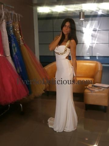 Светлана в платье Jovani 85131