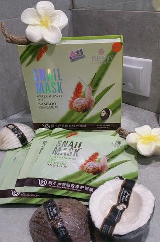 Улиточная тканевая маска для лица