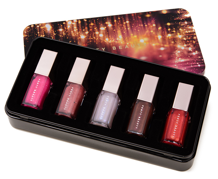 Fenty Beauty Glossy Posse Mini Gloss Bomb Set