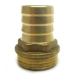 Штуцер латунный 1/2 Н  16 мм.