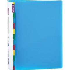 Скоросшиватель пластиковый с пружинным механизмом Attache Diagonal А4 до 150 листов синий (толщина обложки 0.6 мм)
