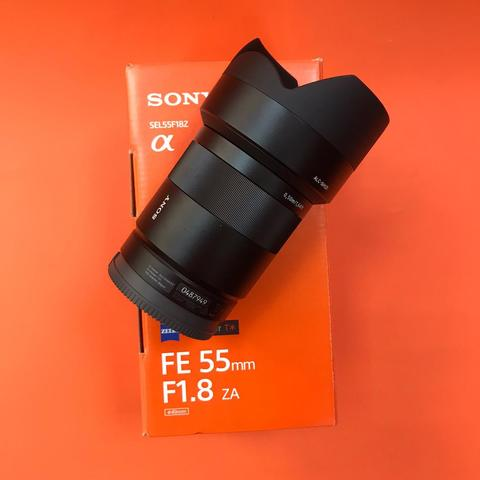 Carl Zeiss Sonnar T* 55mm f/1.8 ZA SEL-55F18Z  комиссия