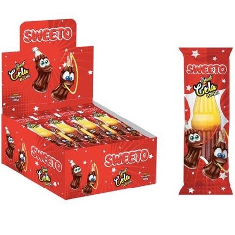 Мармелад в индив. упаковке SWEETO COLA (Кола) 1кор*8бл*24шт 30 гр.