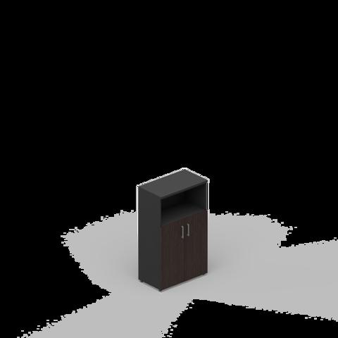 Шкаф комбинированный (2 дверцы + ниша)