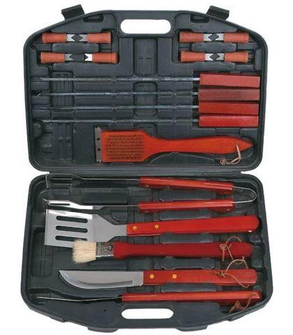 Набор ножей для барбекю в чемодане