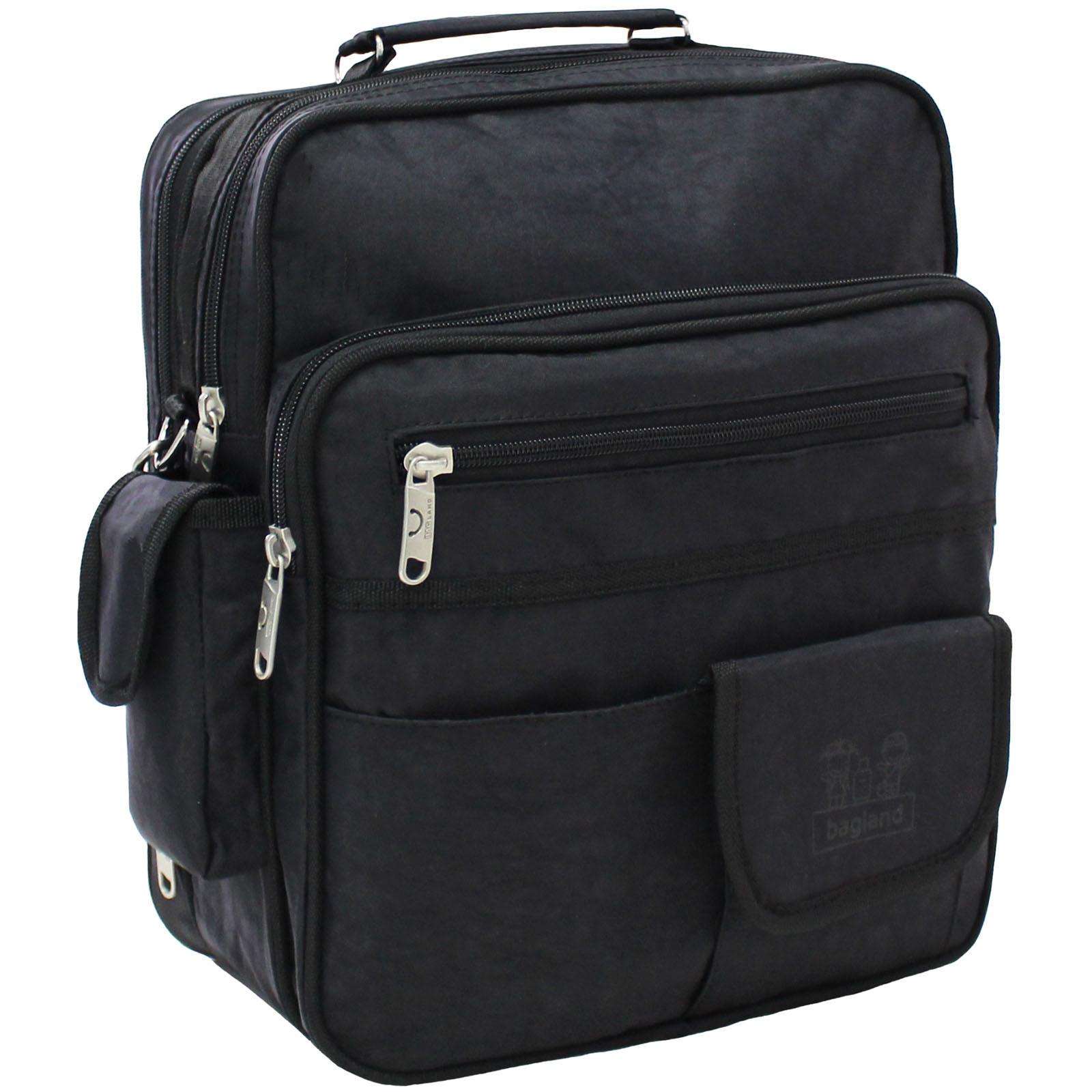 Мужская сумка Bagland Комерсант 11 л. Чёрный (0023870) фото 1