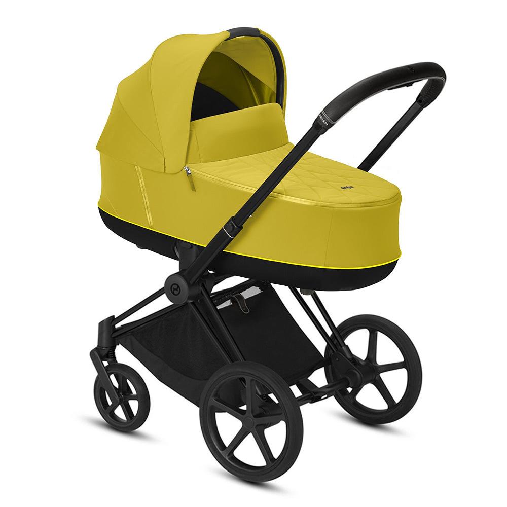 Цвета Cybex Priam для новорожденных Коляска для новорожденных Cybex Priam III Mustard Yellow Matt Black cybex-priam-iii-mustard-yellow-matt-black.jpg