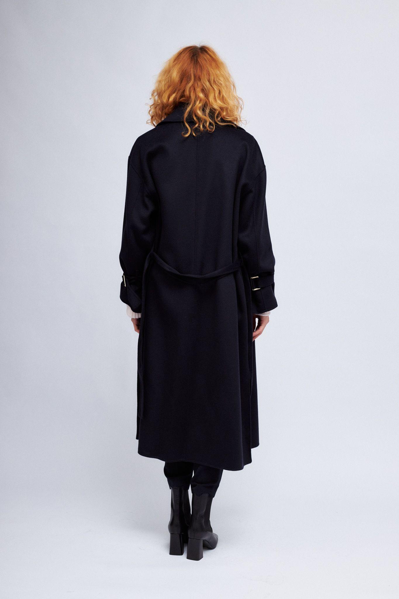 Marc Cain  Пальто с шерстью и шелком