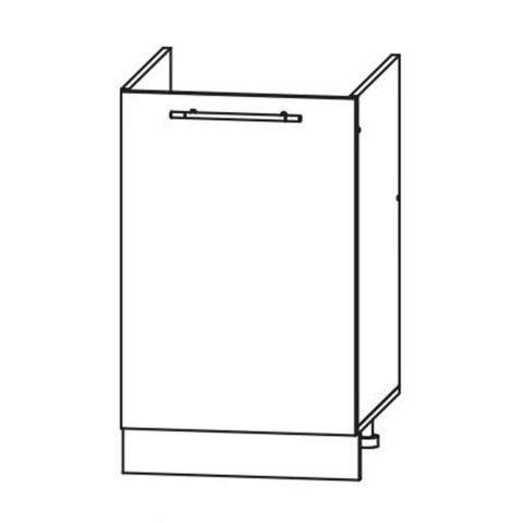 Кухня Вита шкаф нижний мойка 850*500