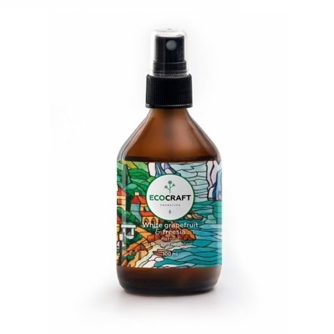 Дезодорант-спрей для тела Белый грейпфрут и Фрезия | Ecocraft