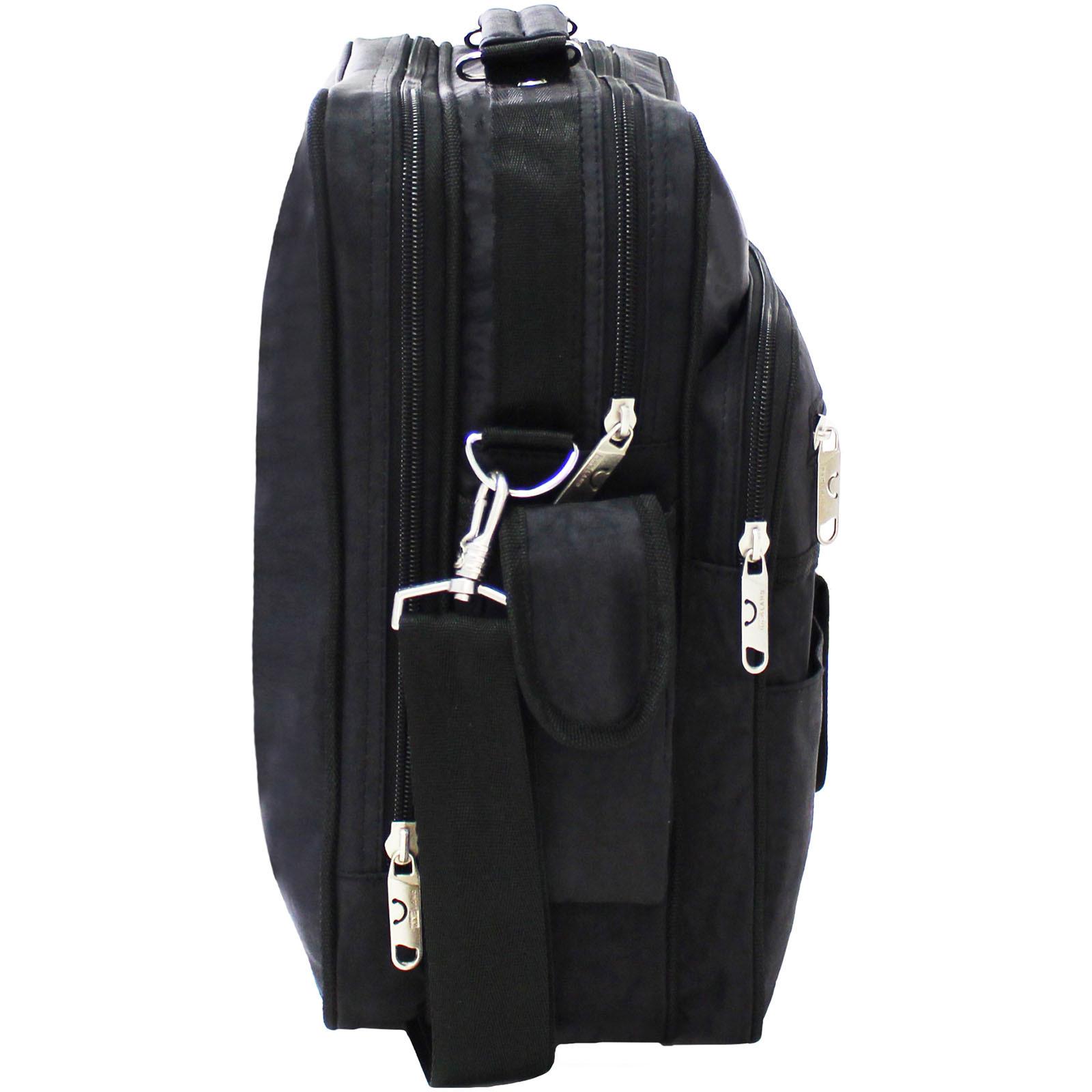 Мужская сумка Bagland Комерсант 11 л. Чёрный (0023870) фото 2