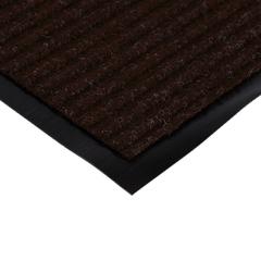 Коврик влаговпитывающий, ребристый, коричневый, 120*1500 см