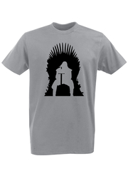 Футболка с принтом Игра престолов (Game of Thrones) серая 001