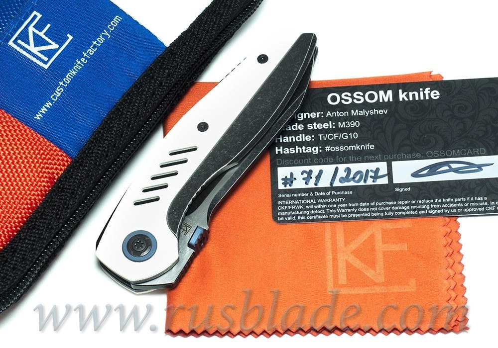 CKF Ossom (M390, Ti, G10)