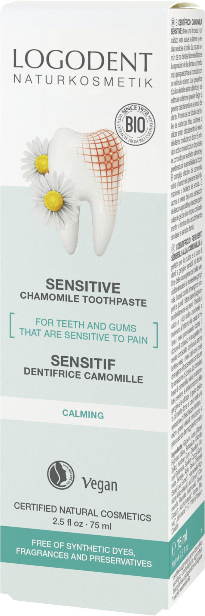 LOGODENT Натуральная зубная паста для Чувствительных зубов