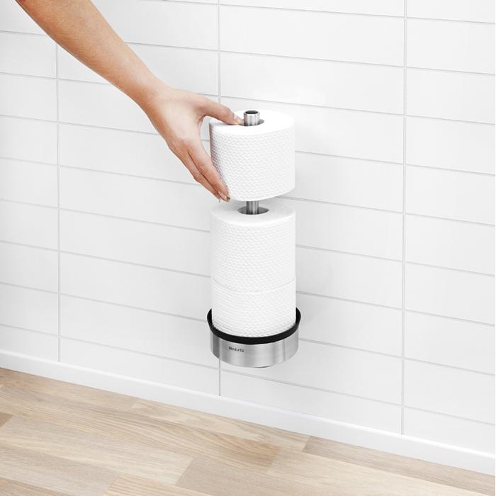 Держатель для хранения туалетной бумаги Profile, Стальной матовый, арт. 427220 - фото 1