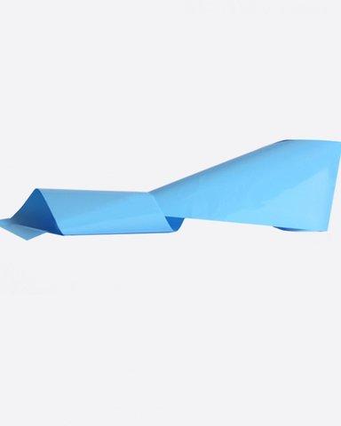 Фольга матовая голубой 935