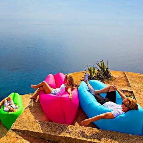Надувной диван Lamzac Lamzac (220х70) фиолетовый