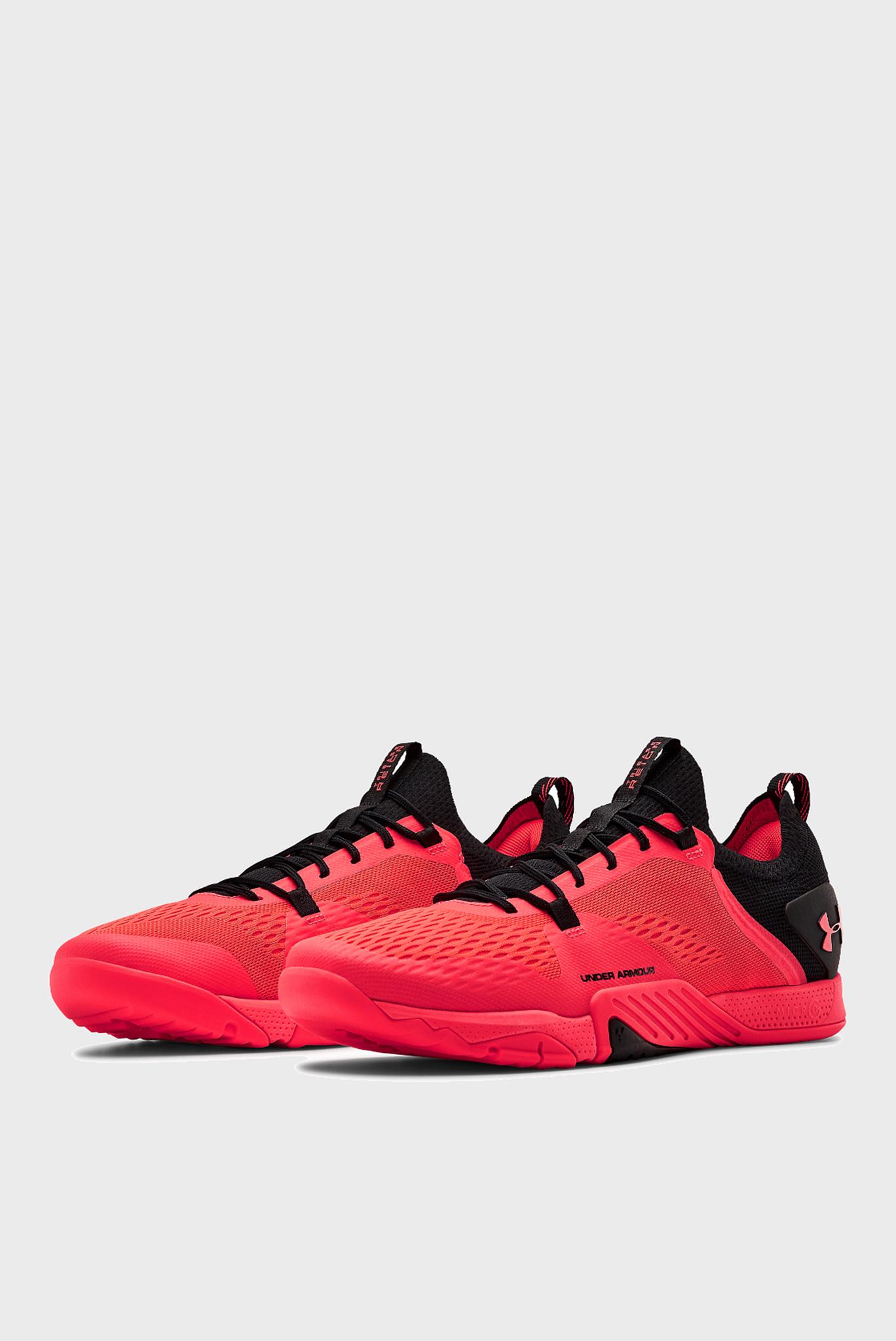 Мужские красные кроссовки UA TriBase Reign 2-RED Under Armour