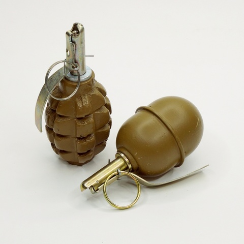 Макет гранаты