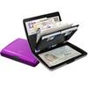 Кошелек-органайзер c защитой Tru Virtu Ray, лиловый , 130x102x23 мм