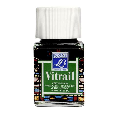 Краска по стеклу Lefranc&Bourgeois VETRAIL 50 мл 534, теплый зеленый