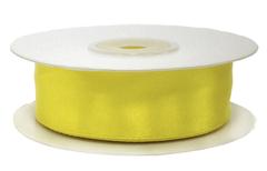 Лента атласная Желтый, 50 мм * 22,85 м