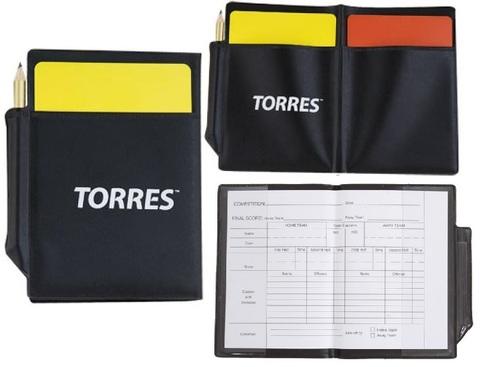 Карточки судейские футбольные Torres