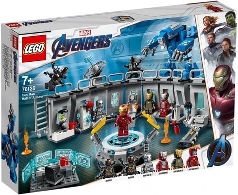 LEGO Super Heroes: Лаборатория Железного человека 76125 — Iron Man Hall of Armor — Лего Супергерои Марвел