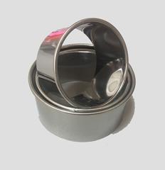Набор колец-вырубок, 3 шт, d=8,10,12см h=5 см