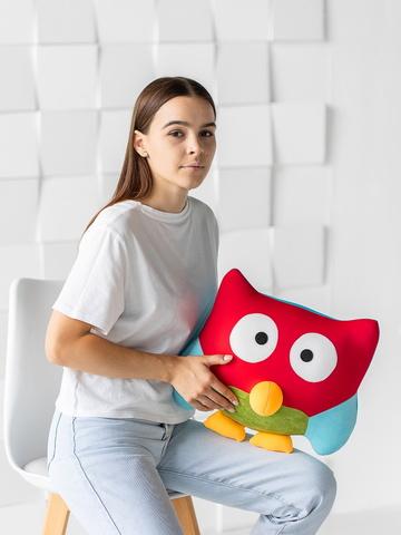 Подушка-игрушка «Совушка Поли»-2