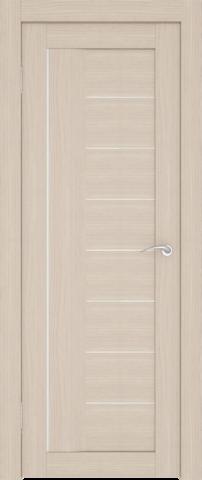 Дверь София (7С1М) (S-8) (беленый дуб, остекленная экошпон), фабрика Zadoor