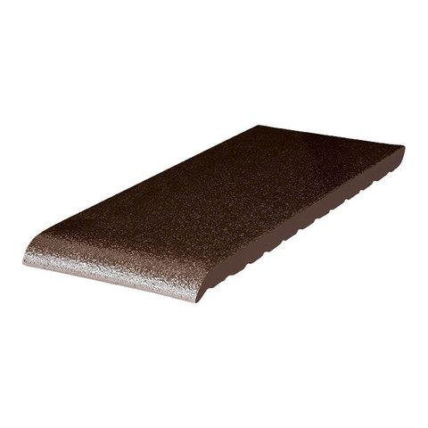 King Klinker, Коричневый глазурованный, 02 Brown-glazed, 350x120x15 - Клинкерный подоконник