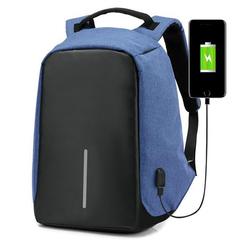 Рюкзак-антивор Kalidi USB Синий