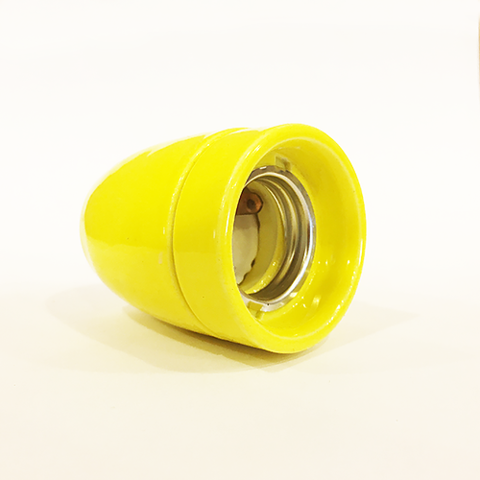 Керамический ретро патрон KS-3 (Желтый)