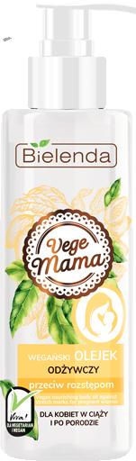 VEGE MAMA Веганское питательное масло для тела 200 мл