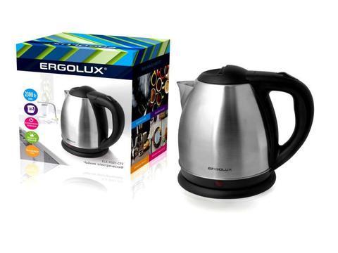 Чайник Ergolux ELX-KS01-C72 матовый/черный