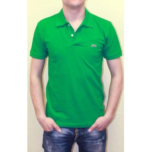 Мужское поло зеленое Lacoste Green Polo