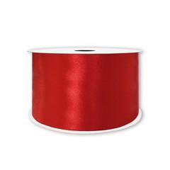 Лента атласная Красный, 25 мм * 22,85 м.