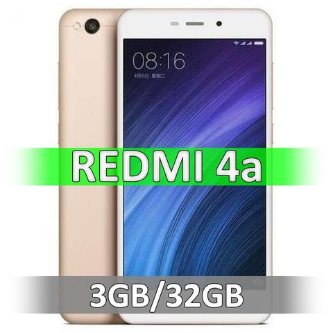 Смартфон Xiaomi Redmi 4A (2-32Gb) Gold