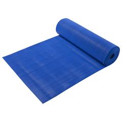 Коврик-дорожка против скольжения Zig-Zag, голубой, 5 мм, 0,9*10 м