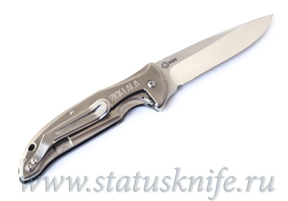 Нож Korth Cutlery Stinger Flipper by Rick Lala - фотография