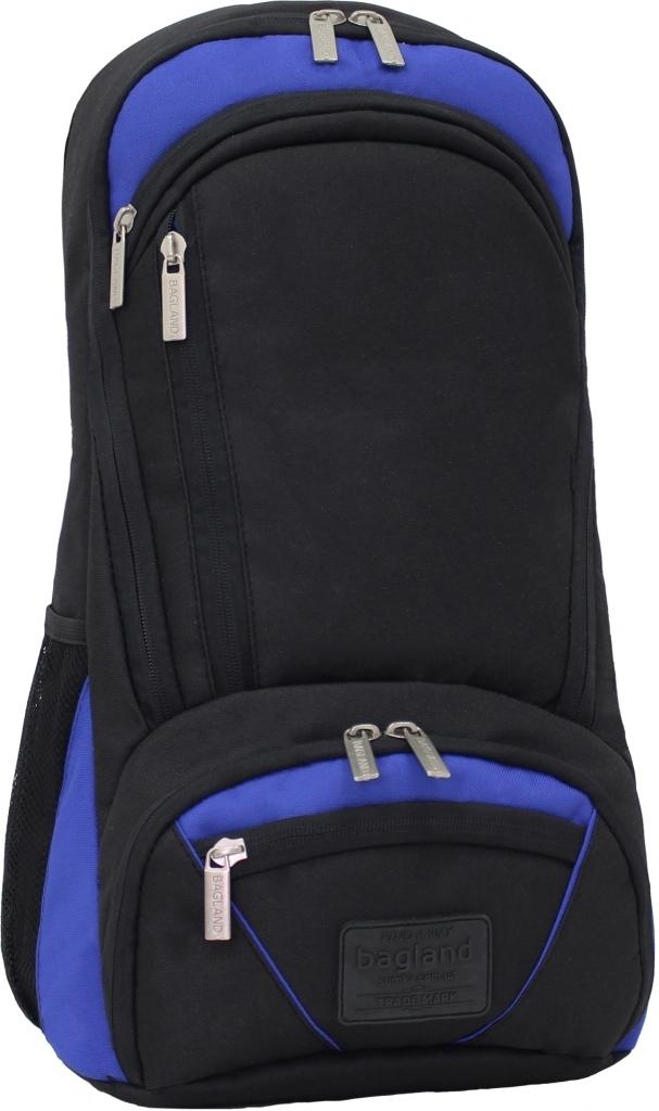 Городские рюкзаки Рюкзак для ноутбука Bagland Granite 23 л. Черный/электрик (0012066) 7dc648573025e45ad653e535fabfd1ae.JPG