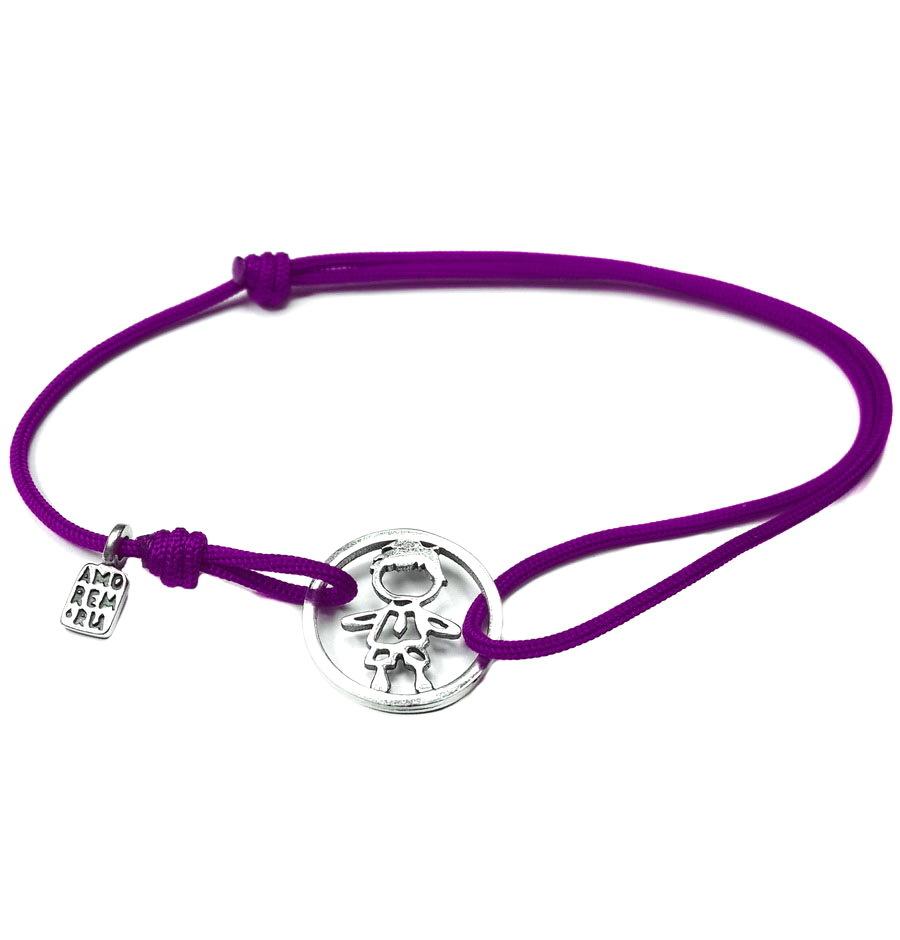 Family Boy bracelet, sterling silver